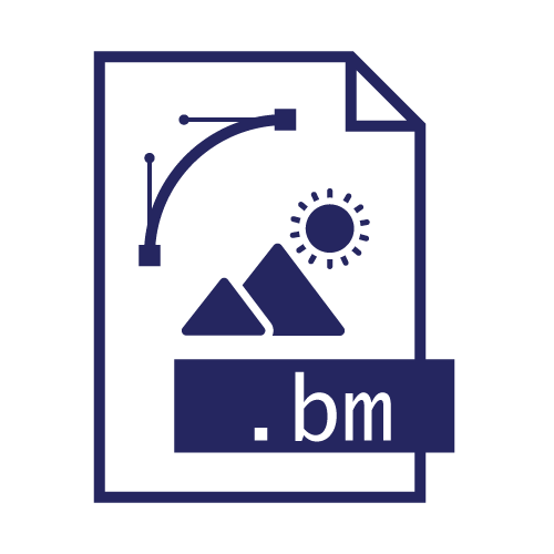Pictogramme extension de fichier bm