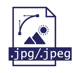 Pictogramme extension de fichier jpeg/jpg